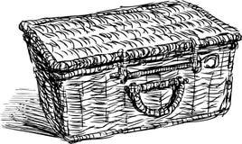 Canestro di picnic royalty illustrazione gratis