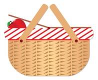 Canestro di picnic Immagini Stock