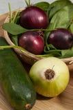 Canestro di verdure Immagini Stock Libere da Diritti