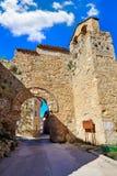 Canete Cuenca Puerta de la Virgen masonry Spain Stock Images