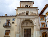 Canete Cuenca San Julian church in Spain Castilla Stock Photo