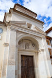 Canete Cuenca San Julian church in Spain Castilla Royalty Free Stock Image