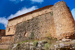 Canete in Cuenca Spain historical masonry Royalty Free Stock Photos