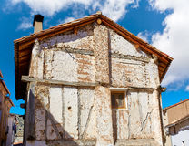 Canete in Cuenca Spain old contruction Royalty Free Stock Images