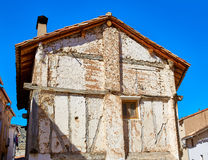 Canete in Cuenca Spain old contruction Stock Photography