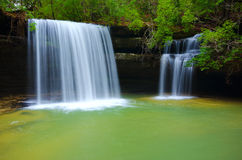 Caney Creek Waterfall royalty free stock image