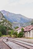 Canfranc International Railway Station Royalty Free Stock Photos