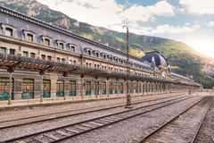 Canfranc International Railway Station Royalty Free Stock Images