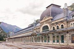 Canfranc International Railway Station Stock Image