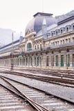 Canfranc International Railway Station Stock Photo