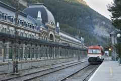 Canfranc train station Stock Photos