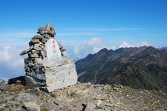 Cang mountain  in southwest  China Stock Photos