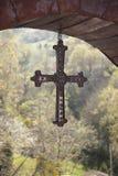 Cangas de Onis kors Arkivbilder