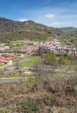 Cangas de Onis in vertical Stock Photo