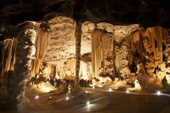 Cango洞,南非 库存照片