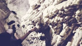 Cango grottor arkivfoto