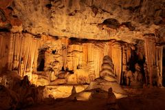 Cango Höhlen, Südafrika Stockfotos