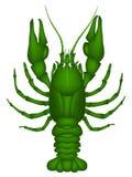 Cangrejos (verde) Ilustración del Vector