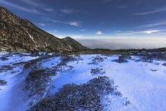 Cangshan berg i Dali arkivbild