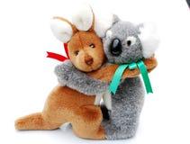 Canguro e koala Immagine Stock