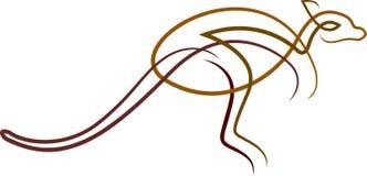 canguru ilustração royalty free