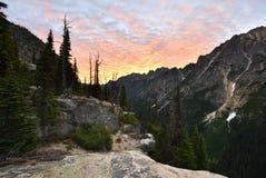 Canguru Ridge no nascer do sol imagens de stock royalty free