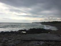Canguu! echowa plaża fotografia stock