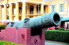 Canhão antigo tailandês Fotografia de Stock Royalty Free