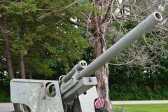 Canhão da artilharia Imagens de Stock Royalty Free