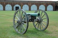 Canhão da guerra civil Fotos de Stock Royalty Free