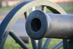 Canhão da guerra civil fotografia de stock