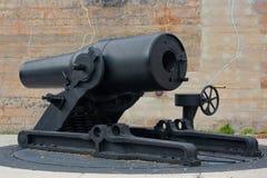 Canhão da guerra Espanhol-Americana Fotografia de Stock Royalty Free