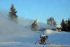 Canhão da neve Fotos de Stock