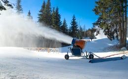 Canhão da neve Fotografia de Stock Royalty Free