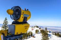Canhão da neve, Poiana Brasov Imagens de Stock