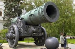Canhão de Tsars - Kremlin - Rússia Fotos de Stock