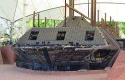 Canhão de USS o Cairo fotos de stock royalty free