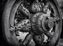 Canhão do czar da roda Imagens de Stock