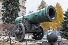 Canhão do czar no Kremlin de Moscou, Rússia Foto de Stock