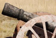 Canhão do estilo velho imagem de stock