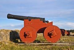 Canhão em Fredriksten Foto de Stock Royalty Free