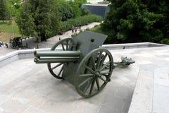 Canhão em Marasesti Mausoluem Fotos de Stock Royalty Free