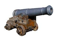 Canhão espanhol velho Imagem de Stock