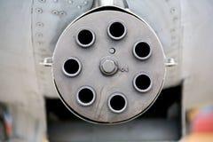 Canhão giratório do Avenger GAU-8 Foto de Stock