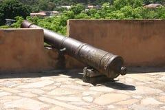 Canhão histórico Fotografia de Stock Royalty Free