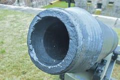 Canhão histórico do forte da guerra civil Fotografia de Stock Royalty Free