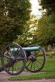 Canhão histórico em Grant Park imagem de stock royalty free