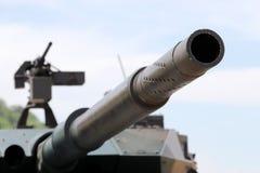 Canhão militar japonês do tanque Fotos de Stock Royalty Free