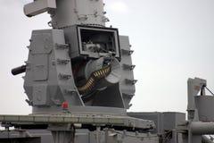 Canhão montado navio. Foto de Stock Royalty Free