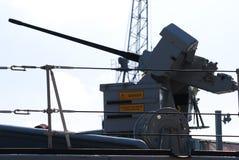 Canhão naval de 30mm Imagem de Stock